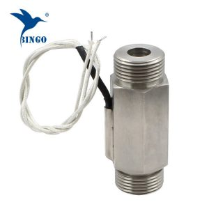 DN25 300V magnetinio nerūdijančio plieno srauto jungiklis vandens šildytuvui